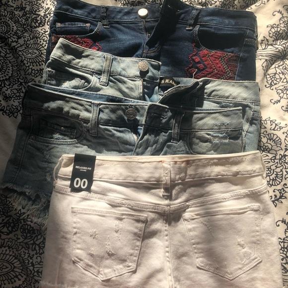 Express Pants - EXPRESS Jean Short Bundle